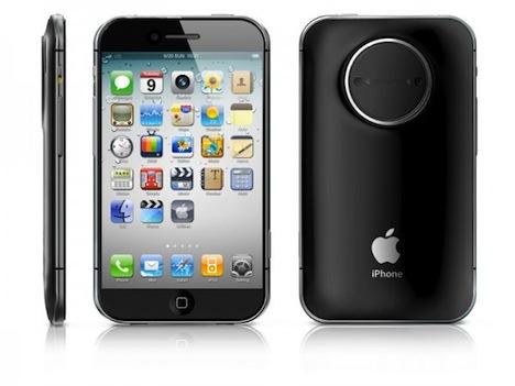 iphone 5 konzept mit 4 5 display und 3d kamera macerkopf. Black Bedroom Furniture Sets. Home Design Ideas