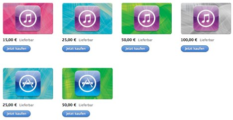 Apple Konto Aufladen