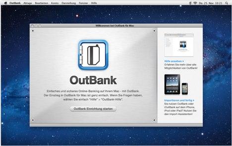 Outbank Osx