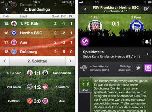 Live Ticker Bundesliga