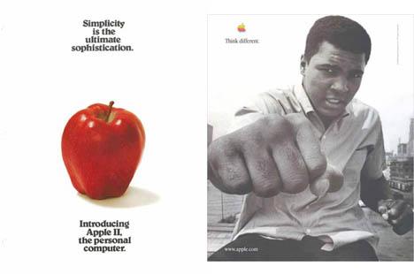 apple werbung von 1972 bis 2002 macerkopf. Black Bedroom Furniture Sets. Home Design Ideas
