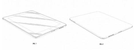 ipad apple erh lt design patent f r erste generation. Black Bedroom Furniture Sets. Home Design Ideas
