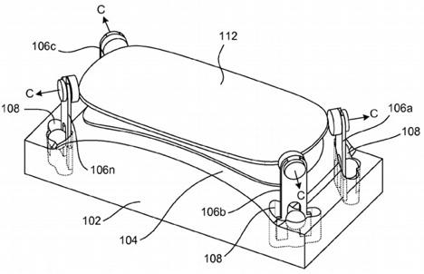 apple patent gebogenes Glas