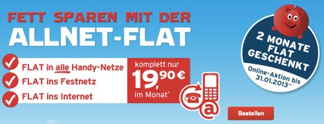 allnet flat f r 19 90 euro 2 monate gratis iphone 5 verf gbar macerkopf. Black Bedroom Furniture Sets. Home Design Ideas
