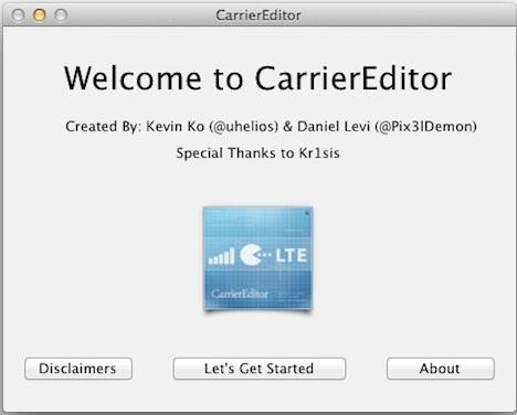 CarrierEditor: Netzbetreiber-Logos auf dem iPhone ohne Jailbreak ...