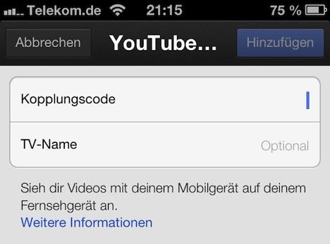 youtube_app_koppeln