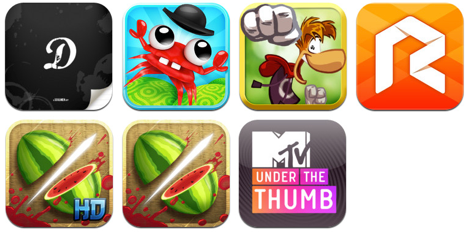 App Store: Download-Empfehlungen der 16. KW 2013 (u.a. Mr. Crab)