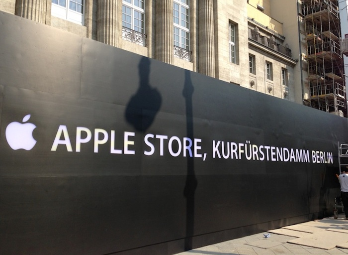apple store berlin er ffnung in k rze macerkopf. Black Bedroom Furniture Sets. Home Design Ideas