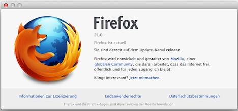mozilla firefox for apple macbook