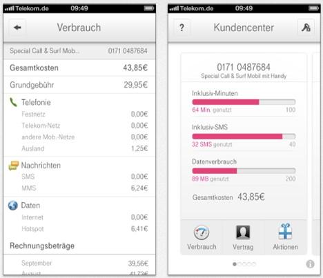 Telekom App Kundencenter