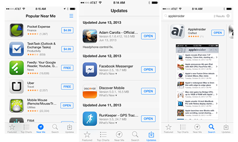 neuer appstore-iOS7
