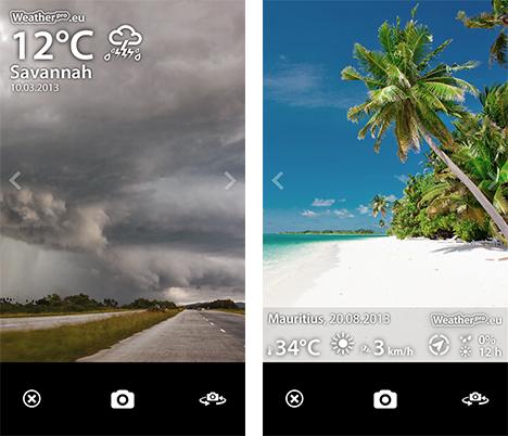 Wetter-Foto WeatherPro