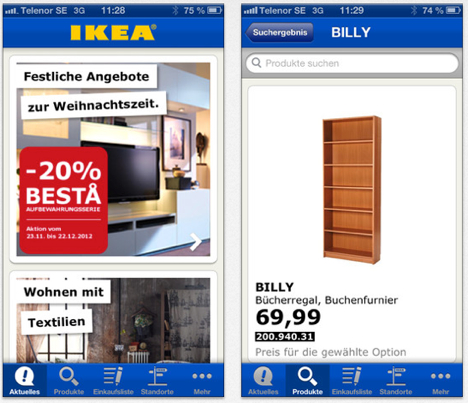 ikea katalog 2014 augmented reality als shopping von. Black Bedroom Furniture Sets. Home Design Ideas