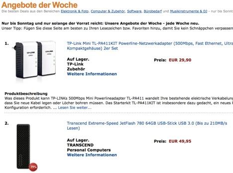 Amazon.de_ Angebote der Woche