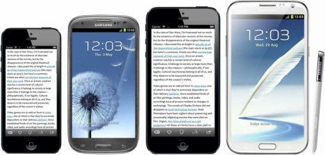 mockup iphone mit 4,94 zoll screen