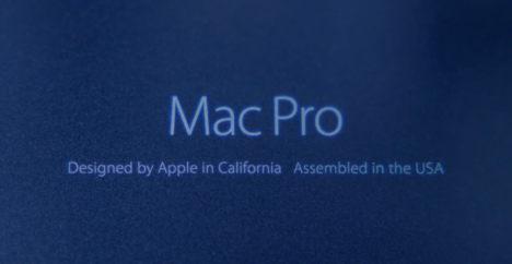 Werbung Mac Pro