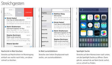 Apple schaltet deutsche Tipps und Tricks zum iPhone 5S