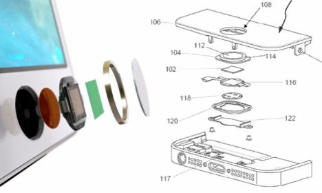patent touch id - 1