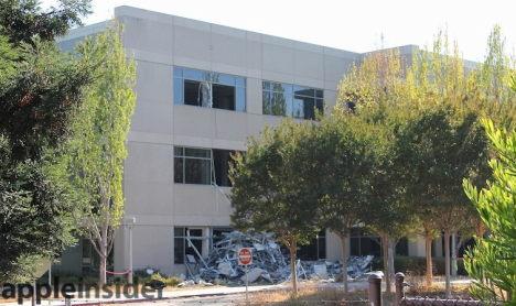 Apple Campus 2 Baustelle