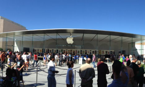 apple store usa 2013