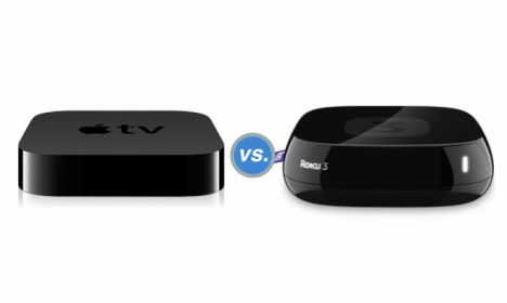 apple tv versus roku