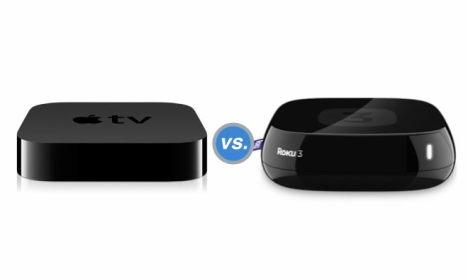apple tv versus roku