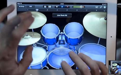 garageband_ipad_drum_solo
