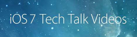 ios7_tech_talk_videos