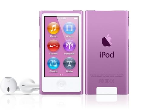 trendsetter ipod nano in violett w hlen farbe des jahres 2014 macerkopf. Black Bedroom Furniture Sets. Home Design Ideas