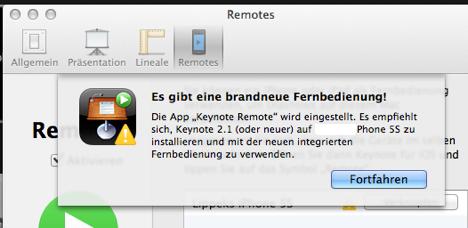 keynote_remote_eingestellt