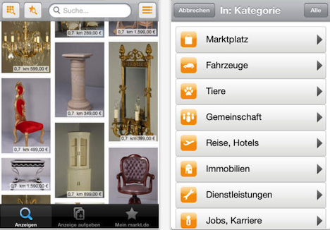 die kleinanzeigen app f r iphone macerkopf. Black Bedroom Furniture Sets. Home Design Ideas