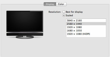 os x - mac pro - 4k displays probleme