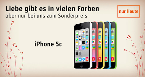 iphone 5s mit vertrag zum halben preis iphone 5c nur. Black Bedroom Furniture Sets. Home Design Ideas