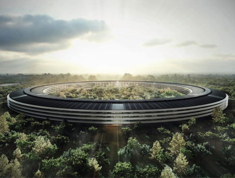 apple campus 2 - projekt