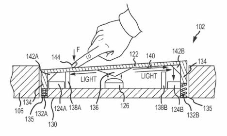 apple patent trackpad