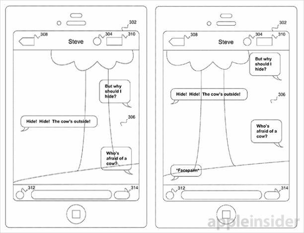 apple patent transparentes texting 2