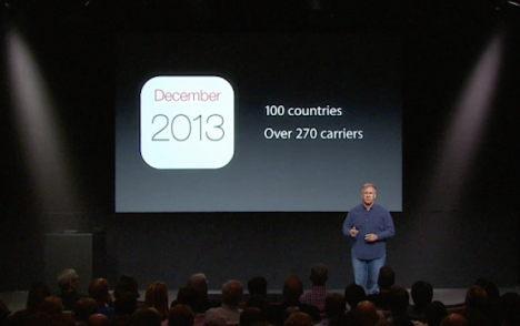 phil schiller iphone einführung 2013