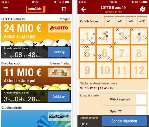 Lotto24.De App