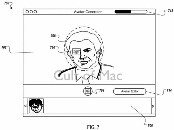 apple patent avatar 1