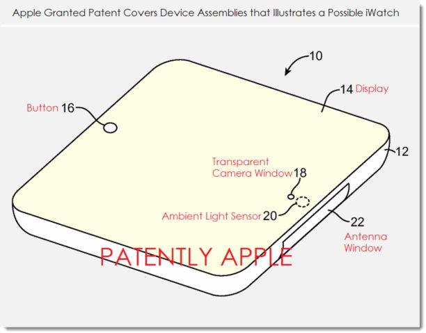iwatch patent 2014 - 1
