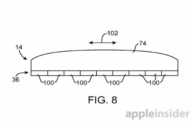 apple patent berühtungsempfindlicher button - 1