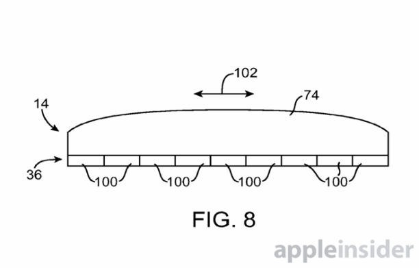 apple patent berühtungsempfindlicher button - 1