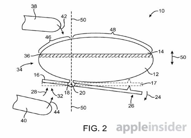 apple patent berühtungsempfindlicher button - 3