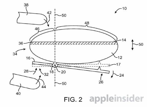 apple patent berühtungsempfindlicher button - 3
