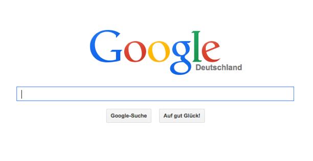 Google Web Suche