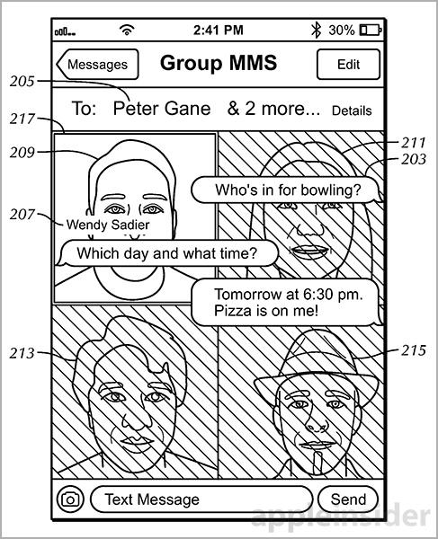 iMessage patent 2