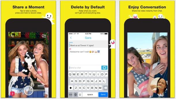 Snapchat 7.0: Update bringt Messenger und Video-Chat › Macerkopf