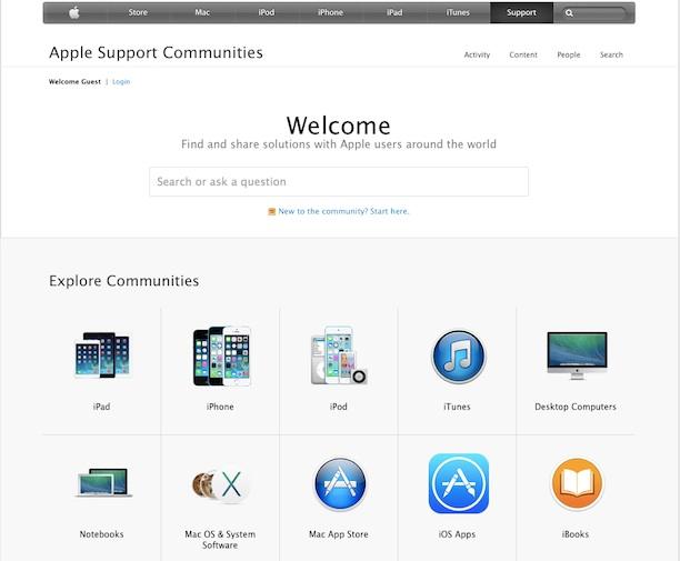 apple_support_communities