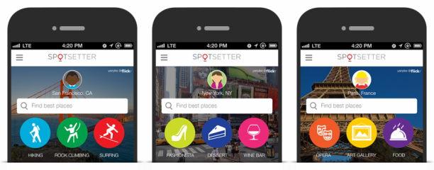 spotsetter app