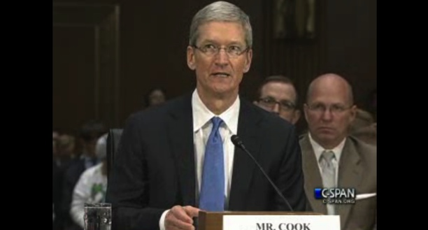 tim cook taxes